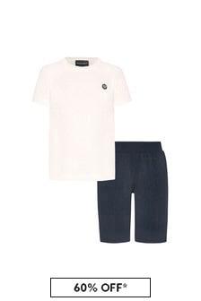 Boys White Outfit