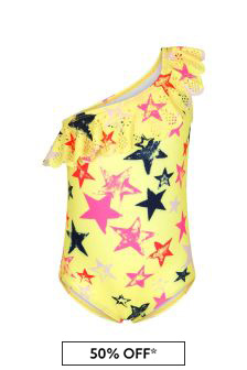 Molo Girls Yellow Swimsuit