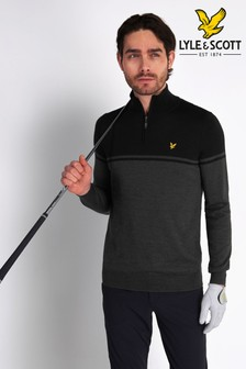 Lyle & Scott Croft 1/4 Zip Jumper