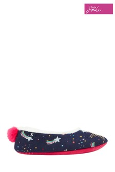 Joules Blue Junior Dreama Character Slippers