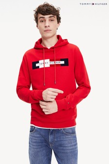 Tommy Hilfiger Red Box Logo Hoody