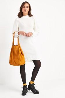 Платье-джемпер с длинными рукавами