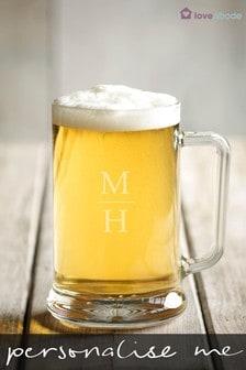 Personalised Beer Tankard by Loveabode