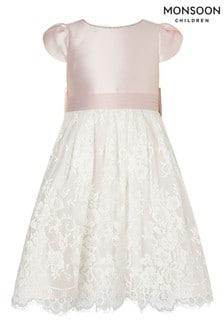 Monsoon Lace And Duchess Twill Bridesmaid Dress
