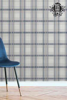 Fresco Iona Check Wallpaper by Art For The Home
