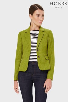 Hobbs Green Hackness Wool Jacket