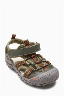 Bumper Toe Trekker Sandals (Younger)