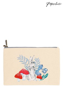 Paperchase Embroidered Cosmetic Pouch