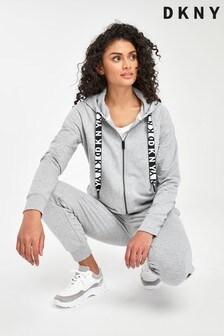 DKNY Grey Zip Hoody