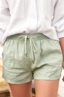 Linen Rich Lounge Shorts