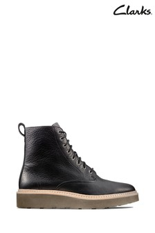 Clarks Black Trace Pine Boots