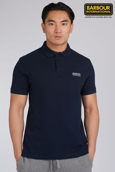 Barbour® International Navy Essential Polo