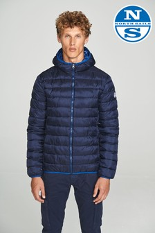 North Sails Navy Skye Hooded Jacket