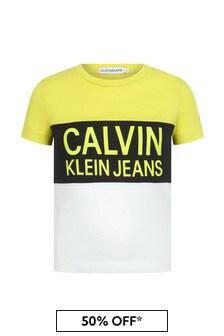 Calvin Klein Jeans Boys Cotton T-Shirt