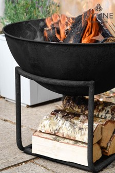 Outdoor Cast Iron Firebowl by Ivyline