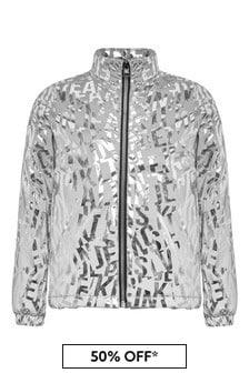Girls Silver Jacket