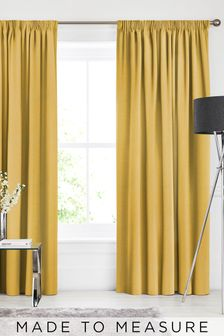 Soho Buttercup Yellow Made To Measure Curtains