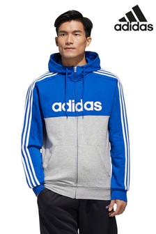 adidas Colourblock Linear Zip Through Hoody