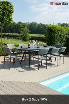 Bliss 8 Seater Oval Dining Set By Maze Rattan