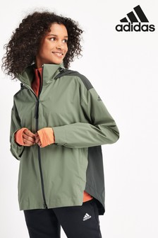 adidas Rain Ready Urban Zip Through Jacket