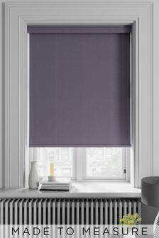 Arden Damson Purple Made To Measure Blackout Roller Blind