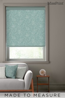 Laurus Broadleaf Green Made To Measure Roller Blind by MissPrint