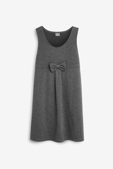Jersey Bow Pinafore (3-14yrs)