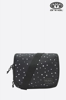 Animal Black Crest Cross Body Bag