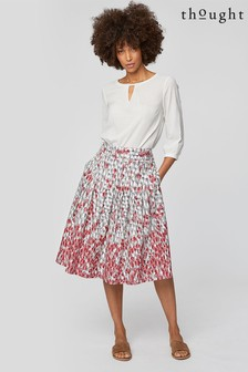 Thought Pink Spot Dash Skirt