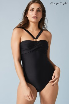 Phase Eight Black Simone Swimsuit