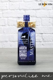 Personalised London Dry Gin With Orange Peel by Le Bon Vin
