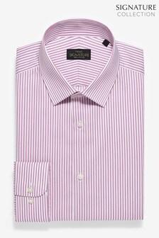 Slim Fit Signature Stripe Shirt
