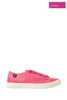 Joules Coast Faux Leather Trainers