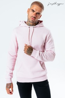 Hype. Mens Pink Dalston Pullover Hoody