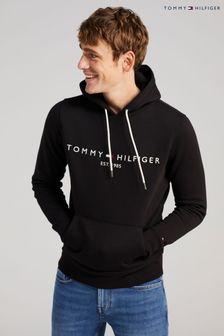 Tommy Hilfiger Black Core Logo Hoody