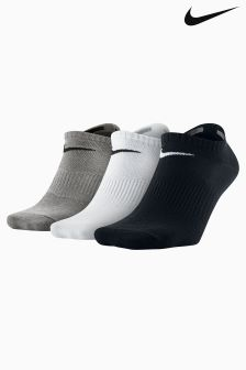 Nike Mens Lightweight No Show Socks Three Pack