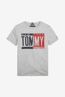 Tommy Hilfiger Boys Logo Print T-Shirt