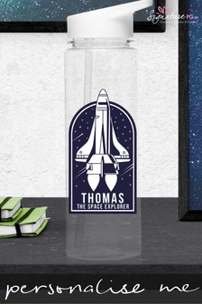 Personalised Space Explorer Water Bottle by Signature PG