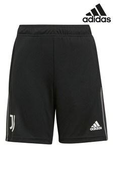 adidas Black Juventus Kids Traning Shorts