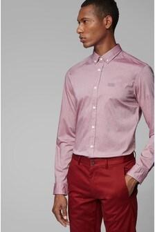 BOSS Pink Biado Logo Shirt