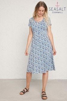 Seasalt Cornwall Blue Crebawthan Dress
