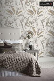 Floral Jungle Leaves Wallpaper by Arthouse