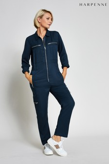 Harpenne Navy Military Boilersuit