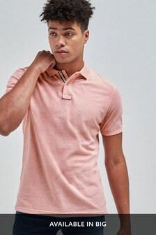 Organic Cotton Pique Poloshirt