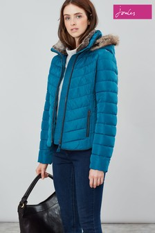 Joules Gosway Padded Jacket With Detachable Hood