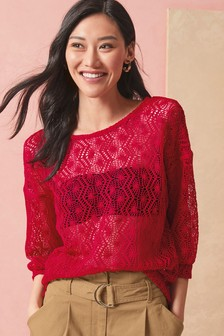 Knit-Look Top