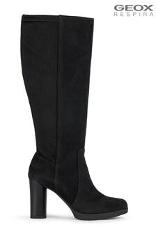 Geox Women's Anylla Black Boots