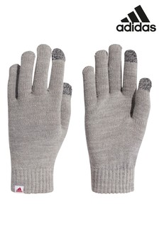 adidas Grey Performance Gloves