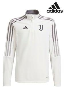 adidas White Juventus Kids Training Top