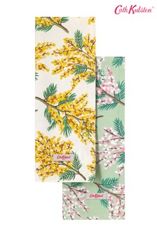Set of 2 Cath Kidston® Mimosa Flower Tea Towels